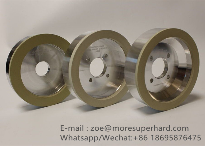 Vitrified diamond grinding wheels for PCD PCBN tools