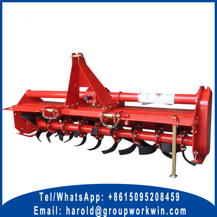 sub compact tractor rotary tiller