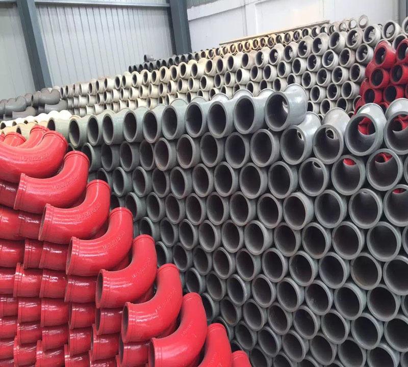 Twin Wall Hardened Concrete Pump Eblow for PutzmeisterSchwingSany