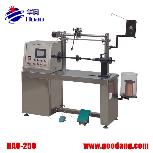 Linear transformer winding machine