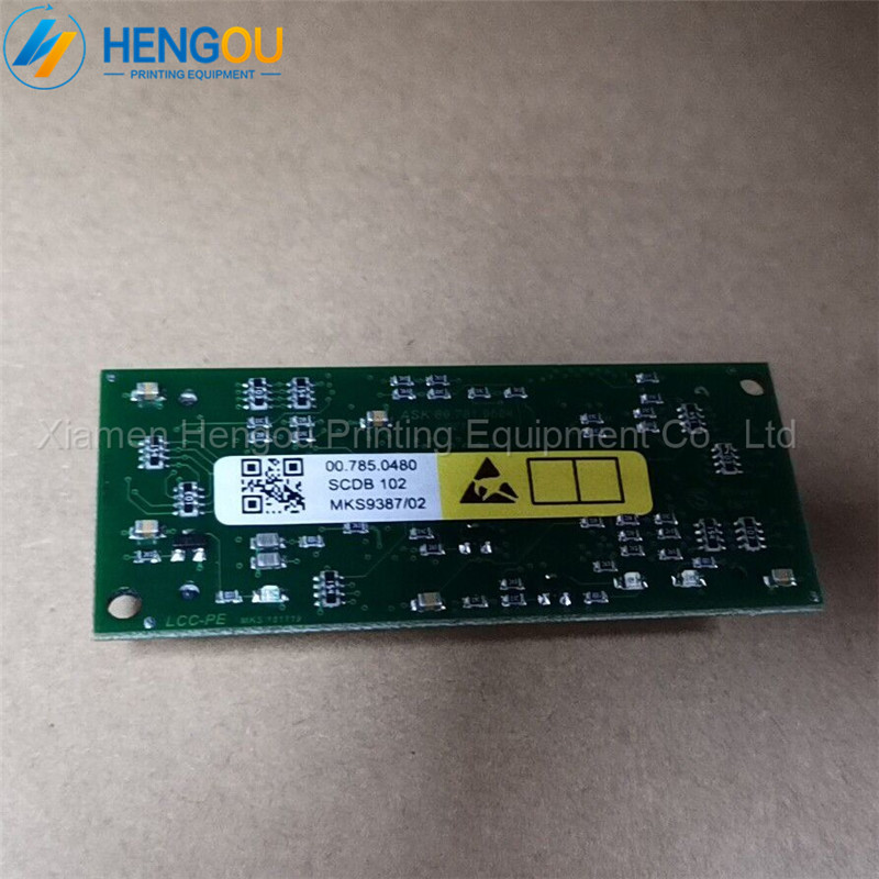 3 pieces offset SM102 printing machine circuit board 007850480 SCDB 102 high quality made in China