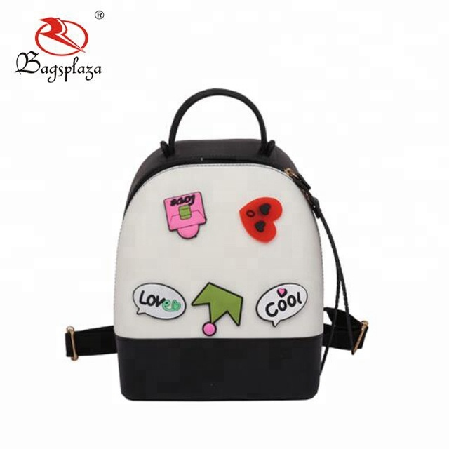 CB083 Hot sale cute girl jelly bag young lady jelly backpack