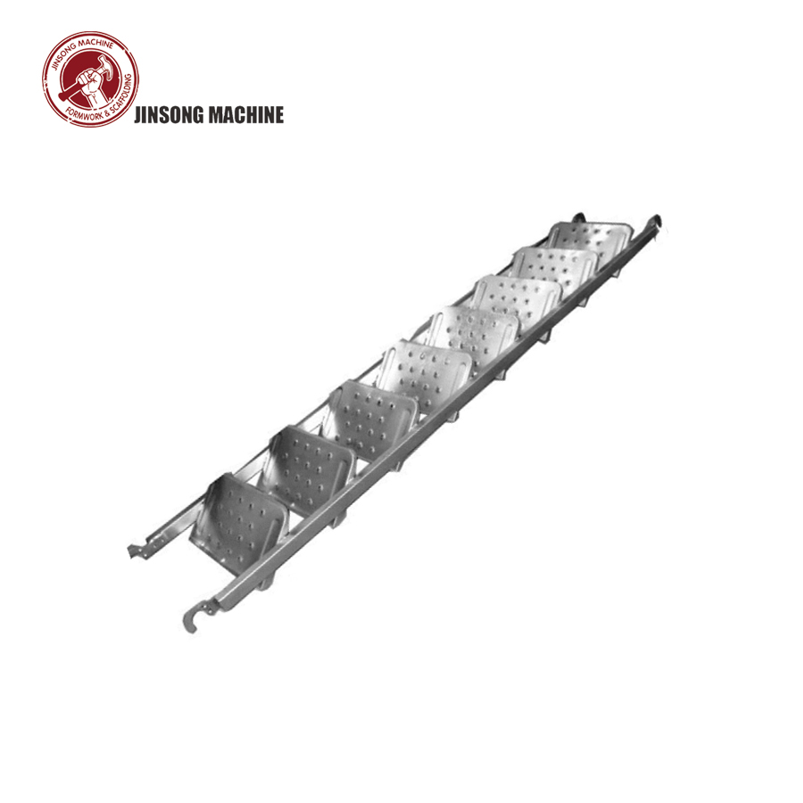 Galvanized Scaffolding Steel Ladder Stair Case for Frame Scaffolding System