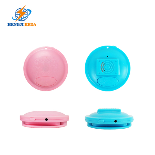 Mini Badge GPS Tracker for Kids and Elderly with Long Standby Time