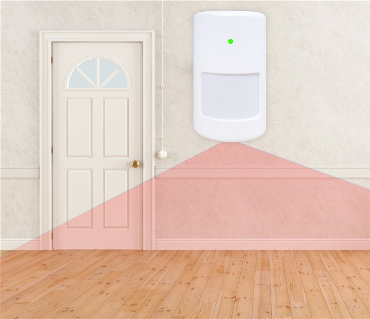 Low Price Wall Mounted Anti Theft Safety Movement PIR Sensor detector