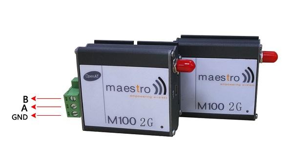 RS485 mini USB interface m2m modem maestro 100 GSM modem