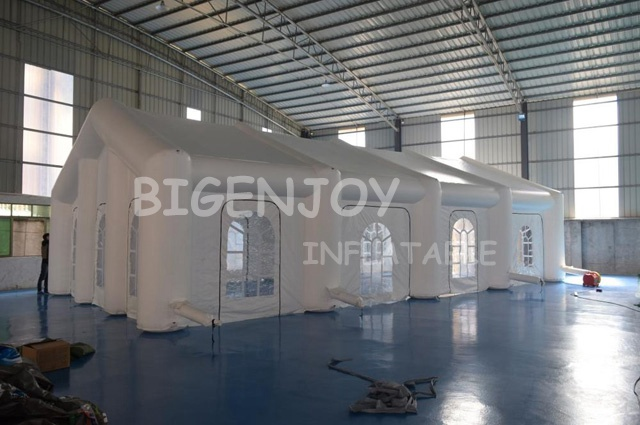 outdoor inflatable marquee dome wedding party building tent for warehouse