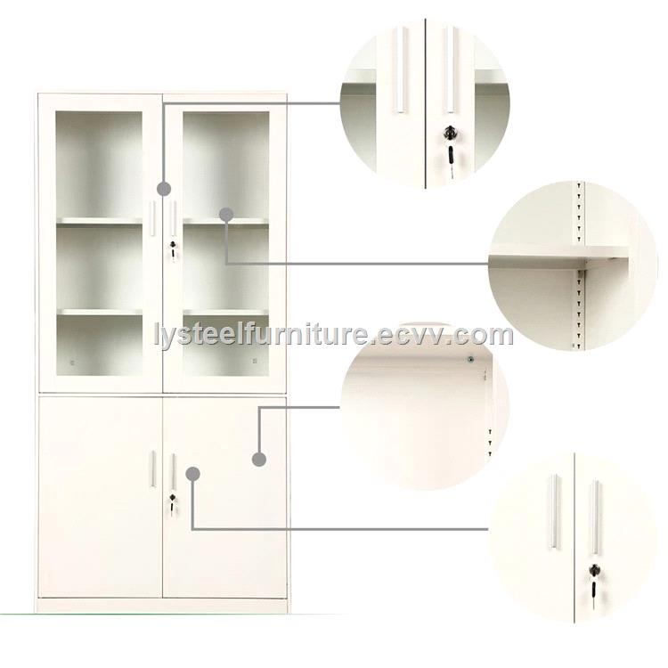 hermaco vintage steel bookcase filing cabinet furniture