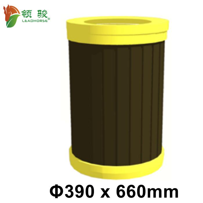 Wood Plastic Composite Waste Bin