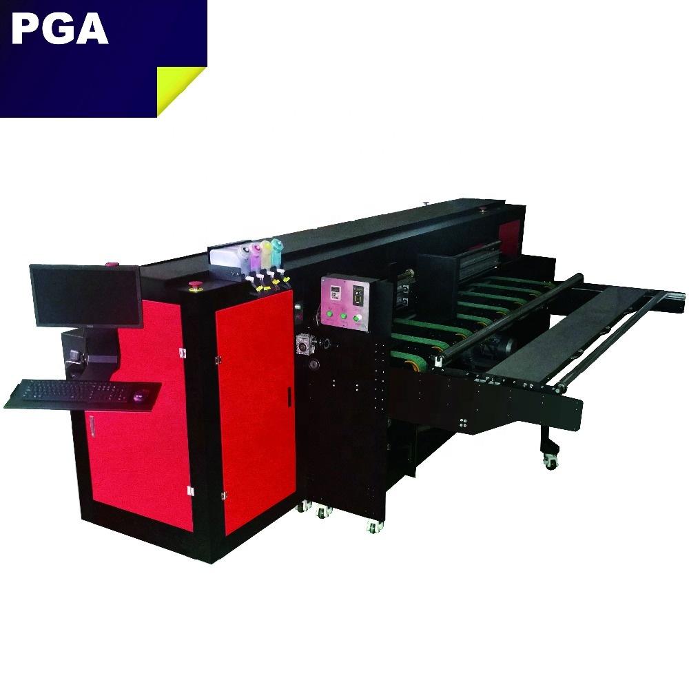 2500AF4PH corrugated carton box inkjet printer press digital inkjet printer for corrugated pizza box