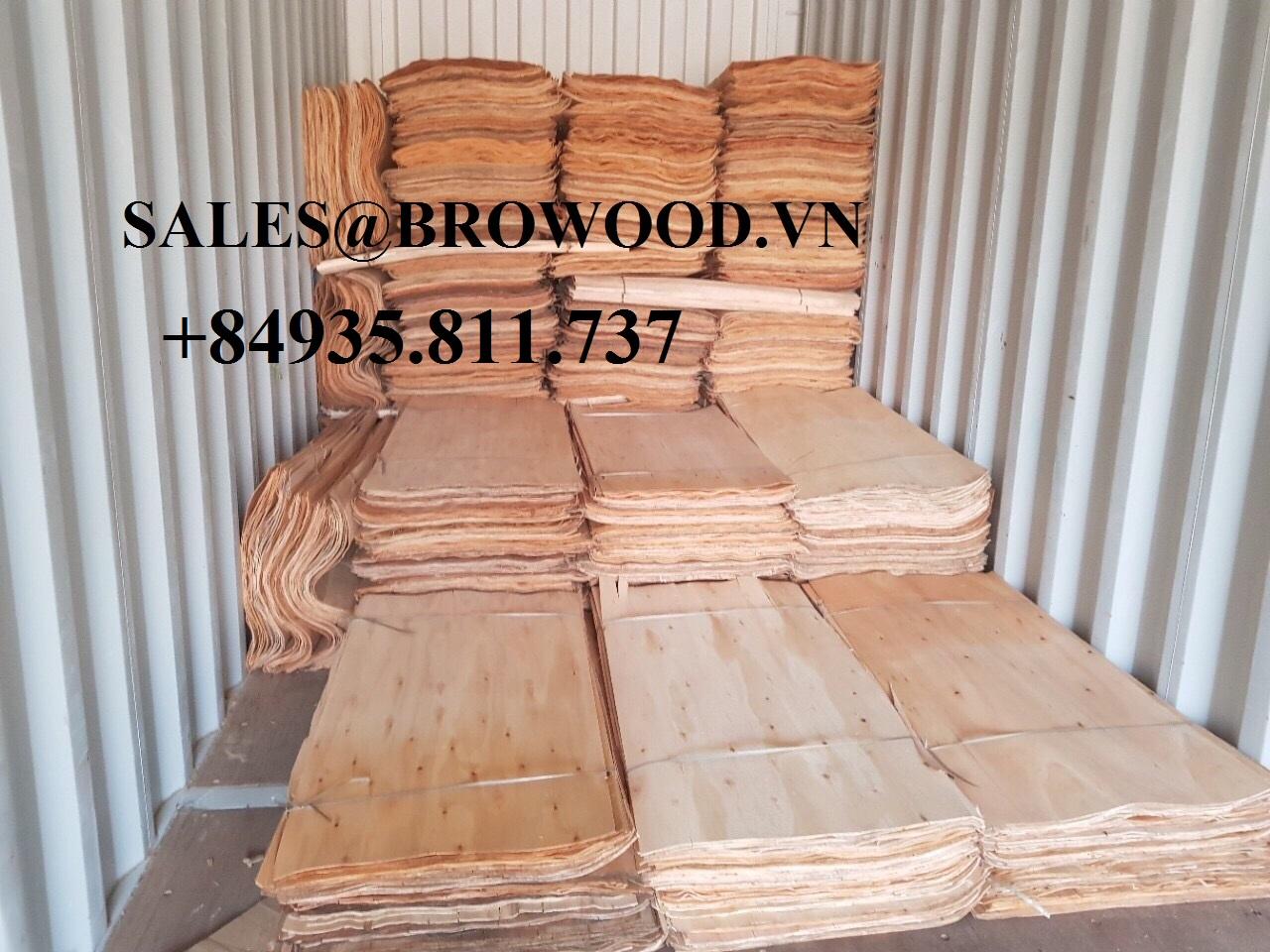 Viet Nam acacia core veneer browood