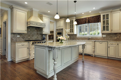 custom made solid wood kitchen cabinet guangzhou