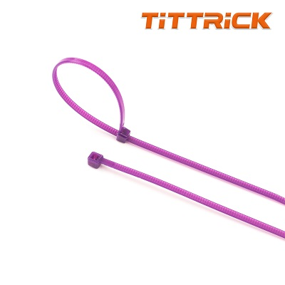 Tittrick 300mm Multi Color Selflocking Flexible plastic Cable Ties Nylon 66 Zip cable tie