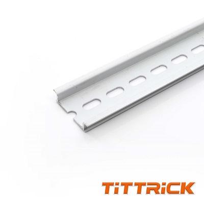 Tittrick Aluminum DIN Rails Size 7535mm standard Light rail