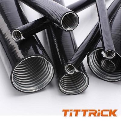 Tittrick Liquid Tight Galvanized Steel Cable Conduit
