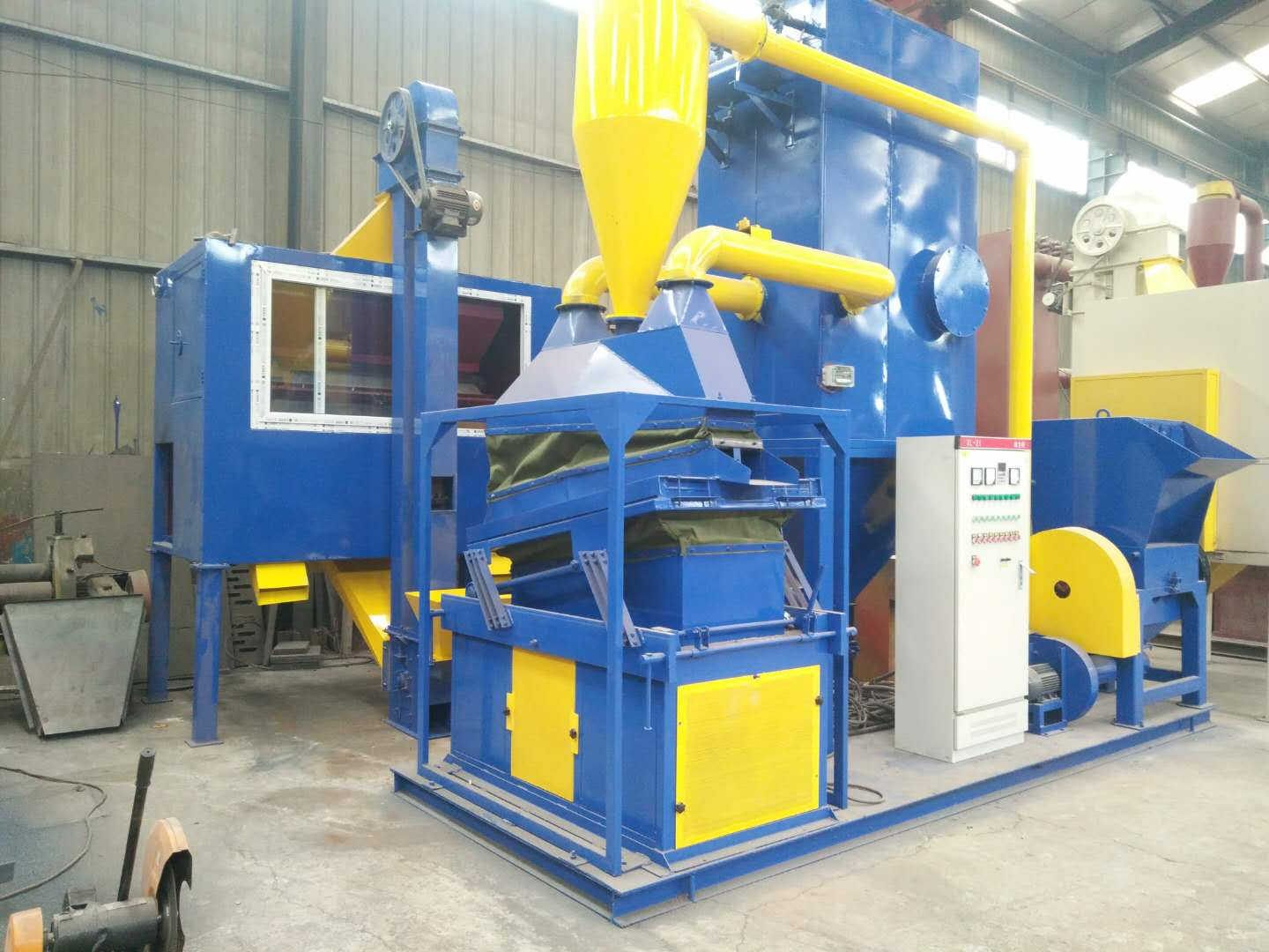 High purity electrostatic separation waste wire recycling equipment