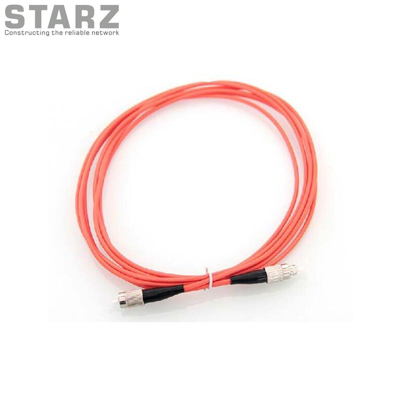 STUPC to STUPC 625125um Multi mode Orange Simplex Fiber Optic Patch Cord Jump Cable