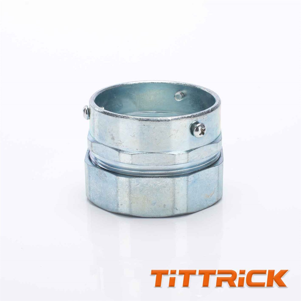 Tittrick Metal Flexible conduit Adaptor Tube Connector