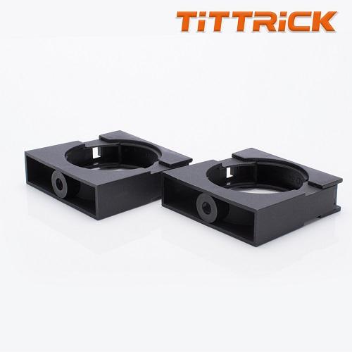 Tittrick PVC Flexible Conduit Fixing Bracket Black High Quality