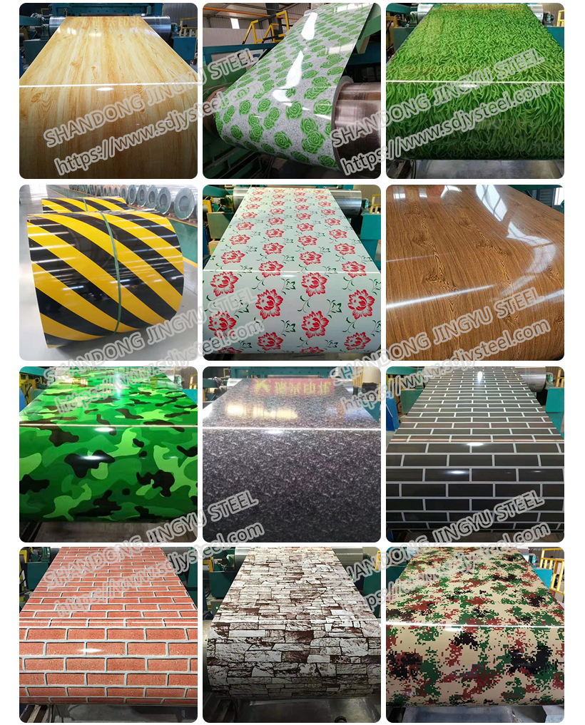 Camouflage series galvanised steel coil factory direct dilivery