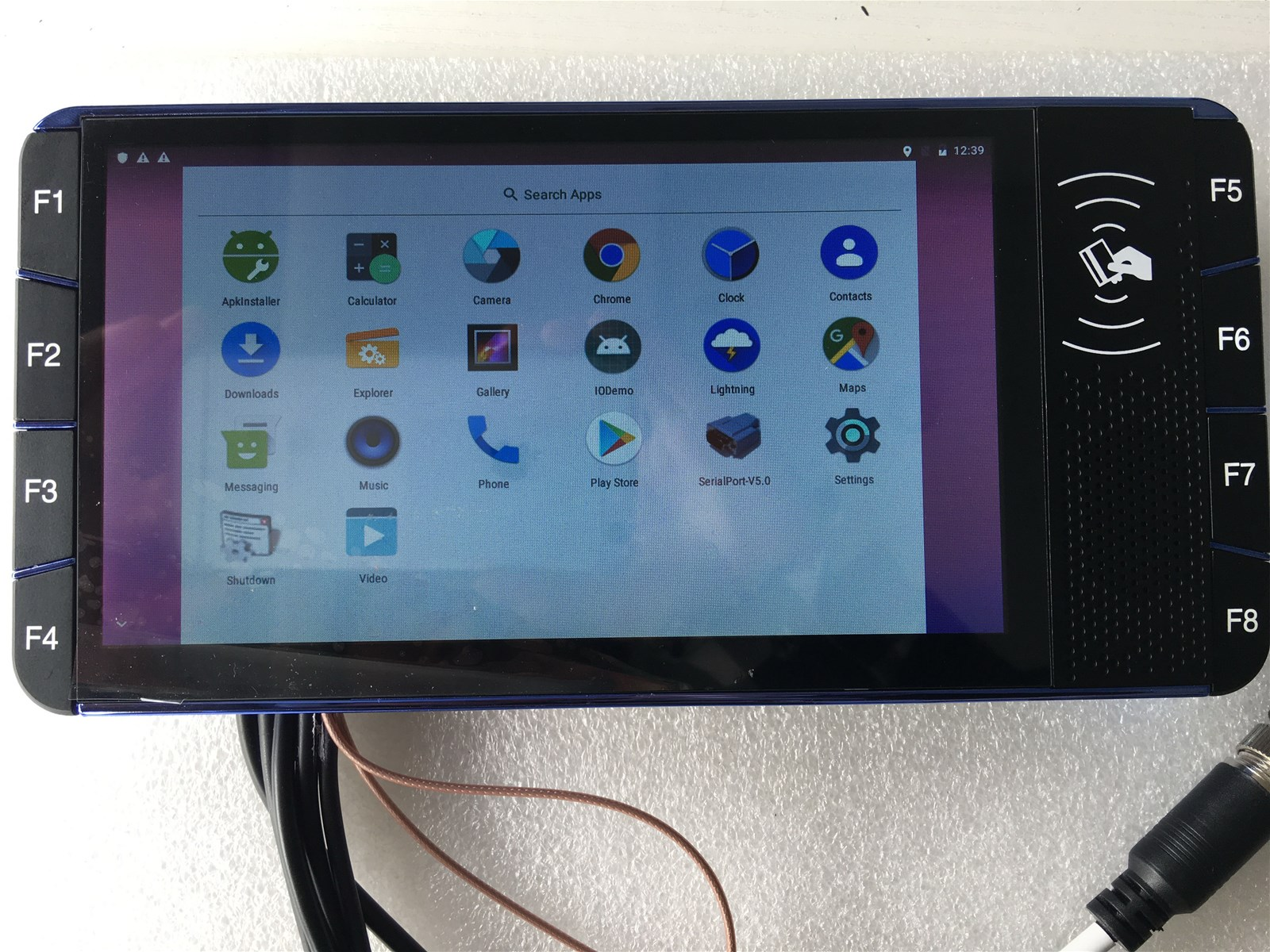 Taxi Dispatching GPS Mobile Data Terminal MDT with 7 touch screen
