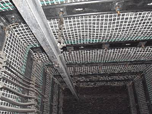Woven Wire Mine Support Mesh Soft but Tough for Mine Safety