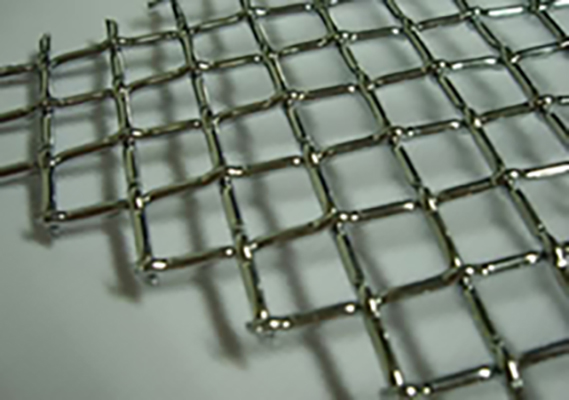 Crimped Wire Mesh Materials Crimped Weaving Type Using