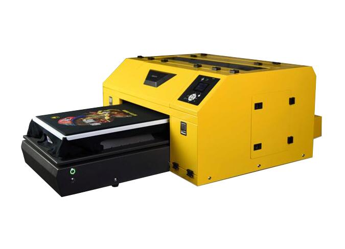 China 350400mm printing size dtg printer for tshirt
