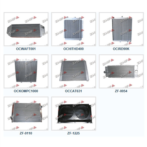 zhifa cooling system plate and bar cooler