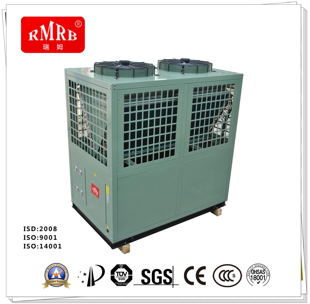 split heat pump system water source heater
