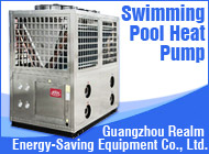 swimming pool air pump air source water heater system for villa