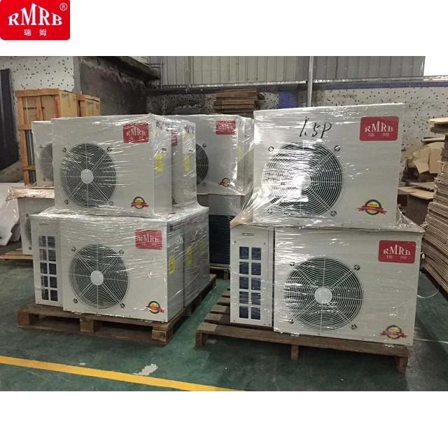 AutoDefrost Evi Air Source Heat Pump Water Heater Power Saving70 Heating Capacity 73kw Detached Main Unit