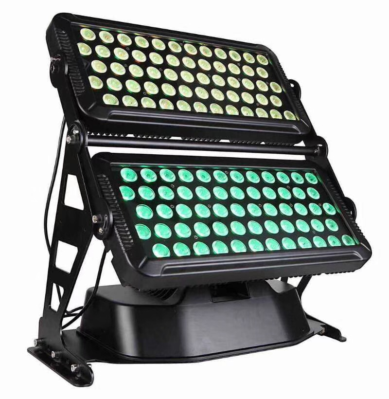 led12012w city outside waterproof stage light colorful leds change building color