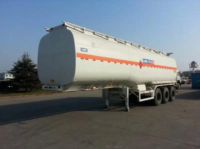 Triaxle 45000 liter gasoline tank trailer fuel tanker trailer