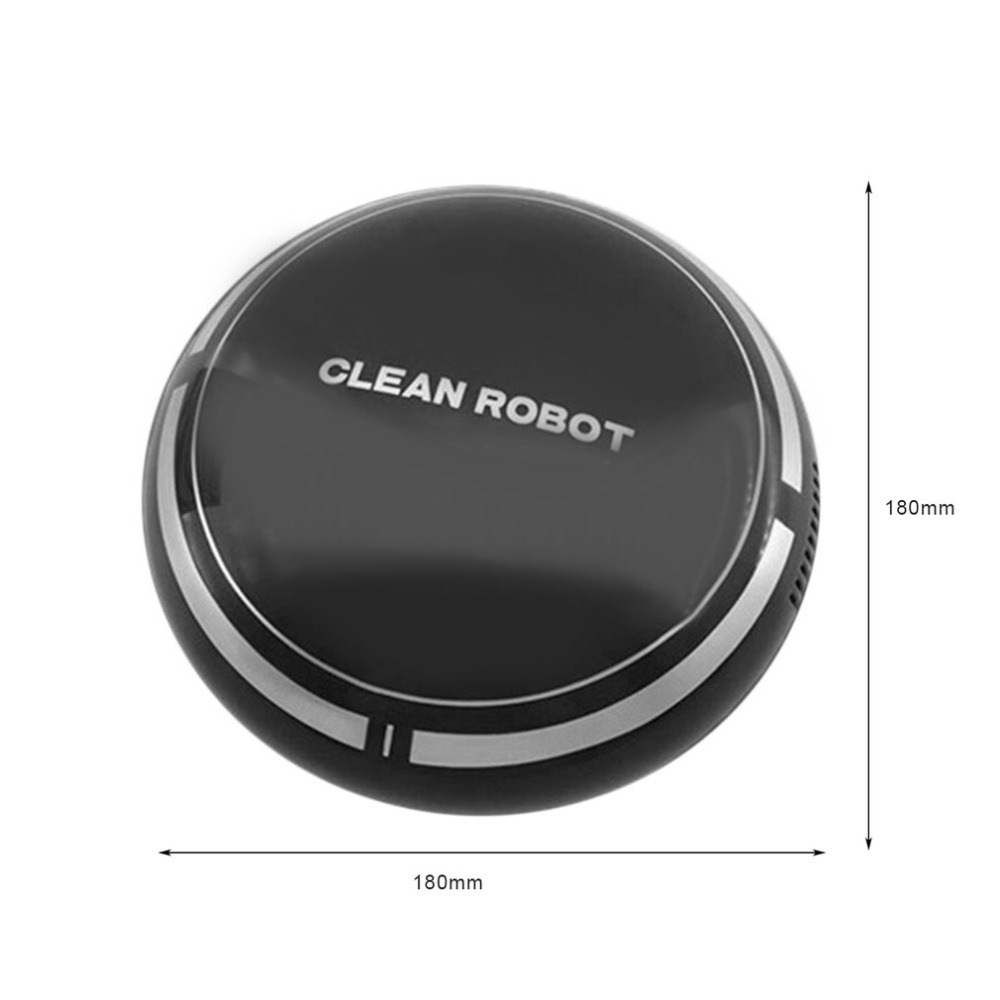 WY Household Rechargeable Smart Sweeping Robot Slim Sweep Suction Machine Small Mini Vacuum Cleaner SweepingMini Cartoo