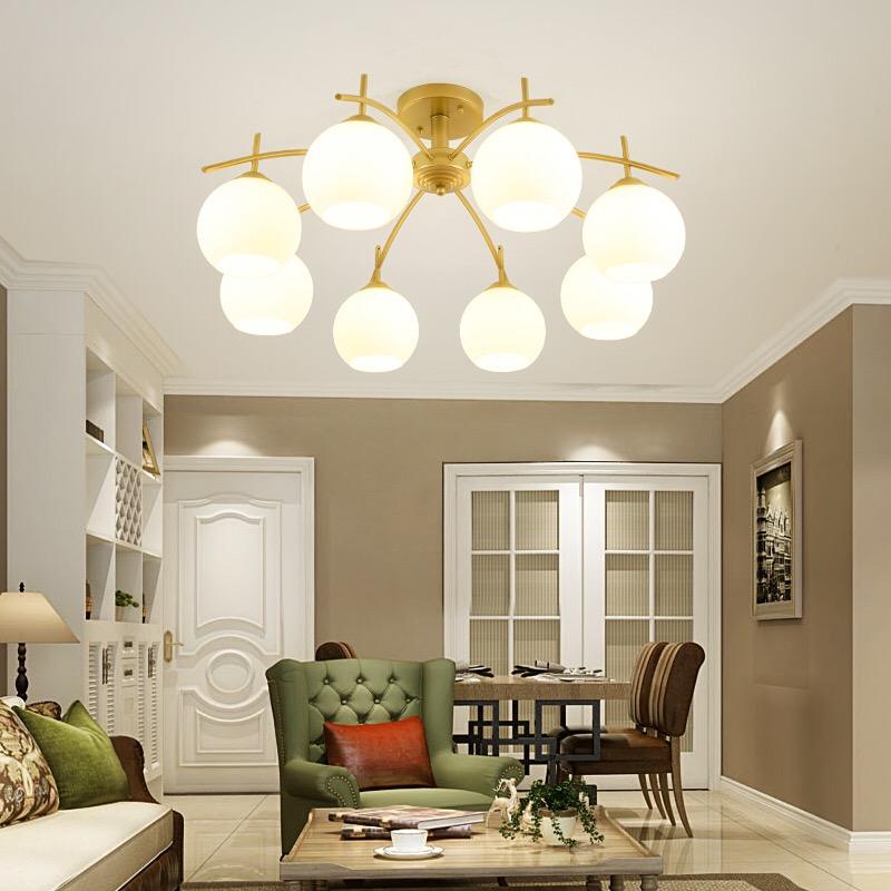 LED Nordic fashion simple design ceiling lamp