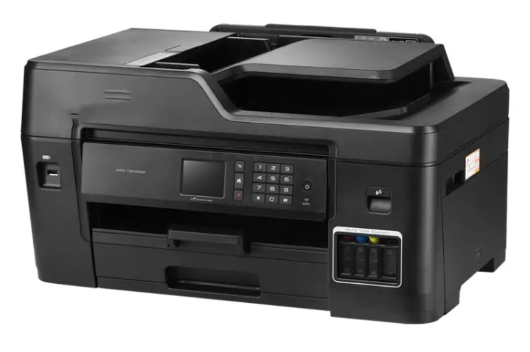 Print copy scanning fax machine allinone automatic doublesided wireless