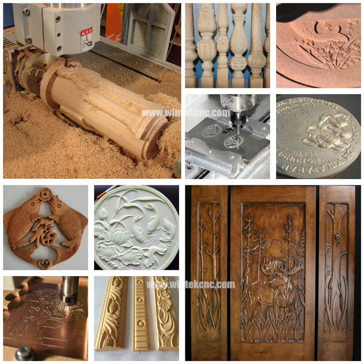 3D Wood Carving Cnc Router Machine For Sale With Factory Price sample