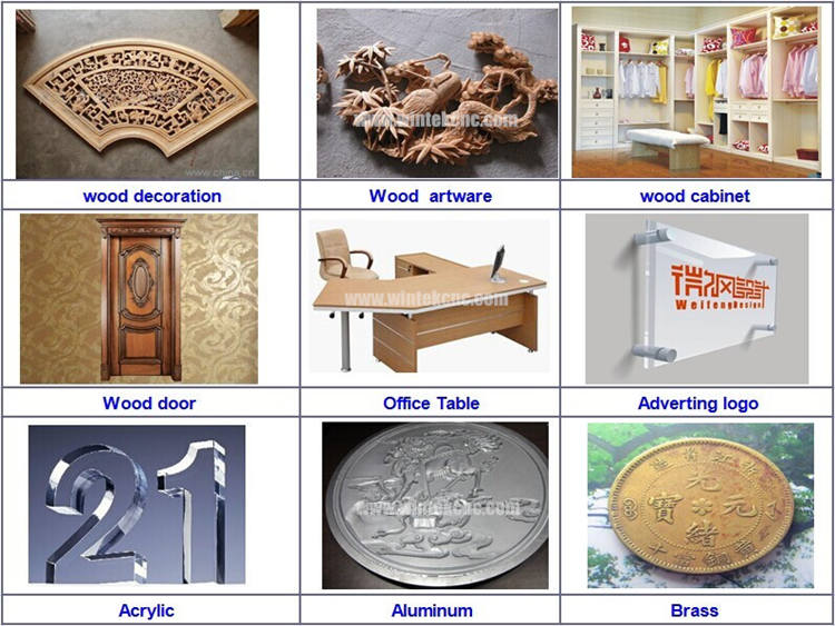 3D Wood Carving Cnc Router Machine sample