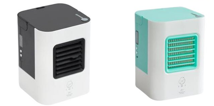 ZHILI Mini pocket USB Air Conditioner Portable Air Cooling Fan Cooler Fans with LED Lights Purifier for Home Dormit