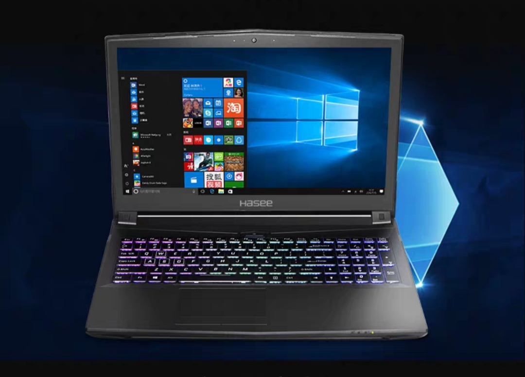 Zhanshen 9 generation core i5 6 core exclusive display game this 156inch IPS student portable solid state notebook com
