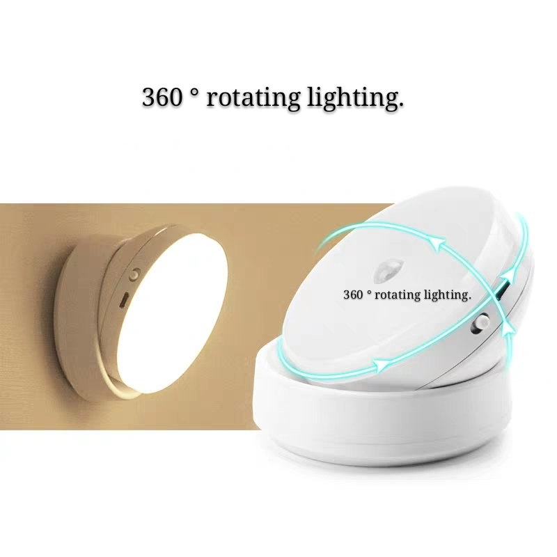 Led induction light closet corridor automatic intelligent control sound control rechargeable battery wall light wi