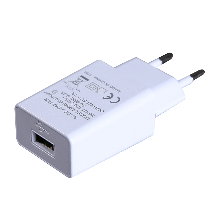 5V1A 2A European universal USB Chargers with CE GS approved phone travel Charger
