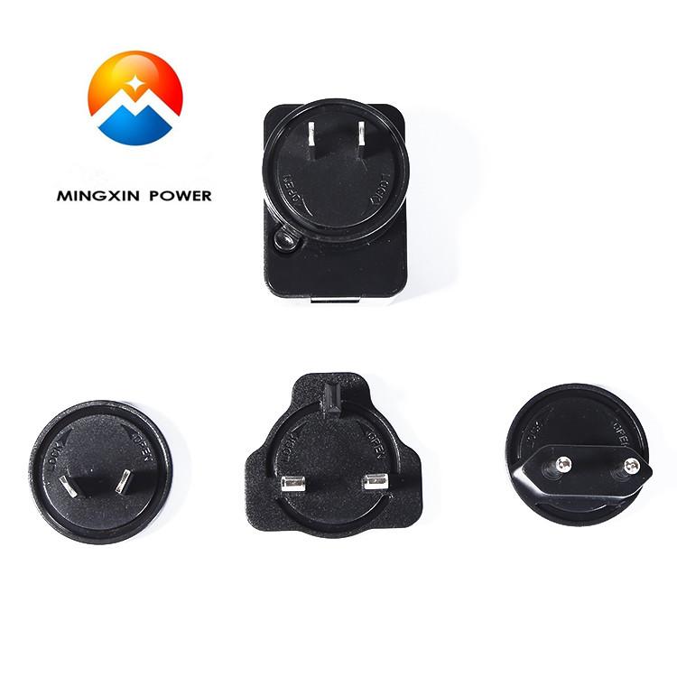 5V1A 2A 3AUniversal AC 100 240V to USB port Adapter with detachable US EU AU UK plugs