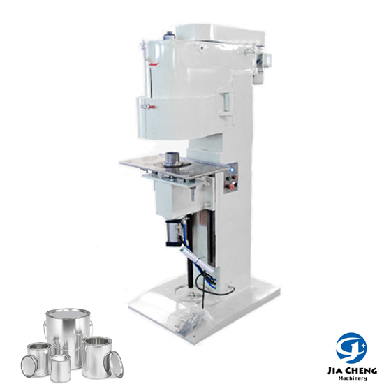 Semiautomatic Penumatic Can Sealing Machine for 1L5L Round Paint Can