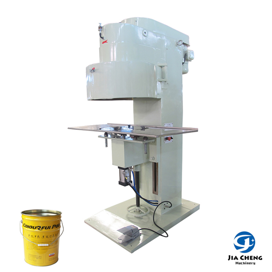 Semiautomatic Pneumatic Can Sealing Machine for 10L20L Pail Cans