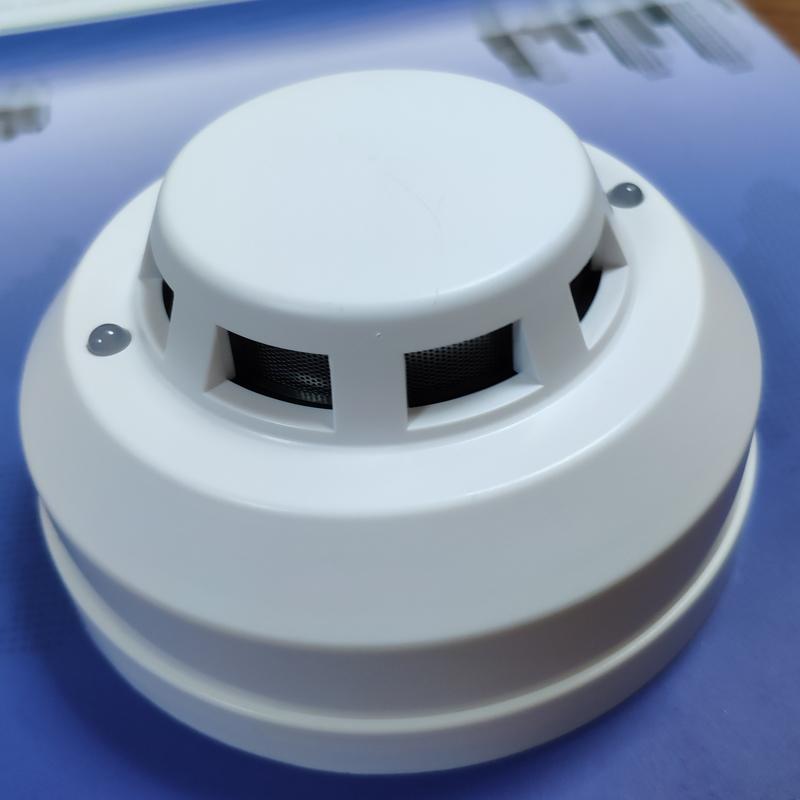 AC120 240V Photoelectronic Smoke detector 4 wired NO NC Smoke Sensor Fire Alarm
