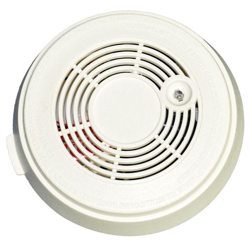 Battery Powered Photoelectric Smoke Alarm Standalone Smoke Sensor Fire Detector 9V for home safety
