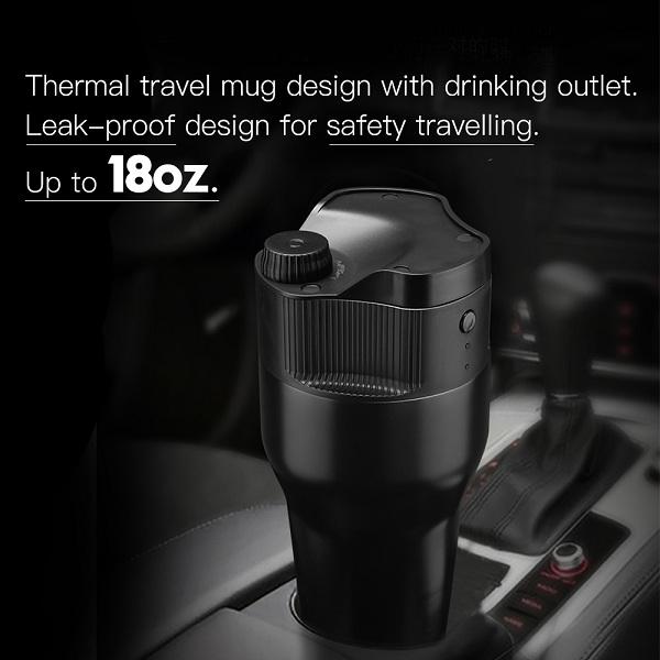 Travel K cup USB Coffee Maker coffee mug tea maker