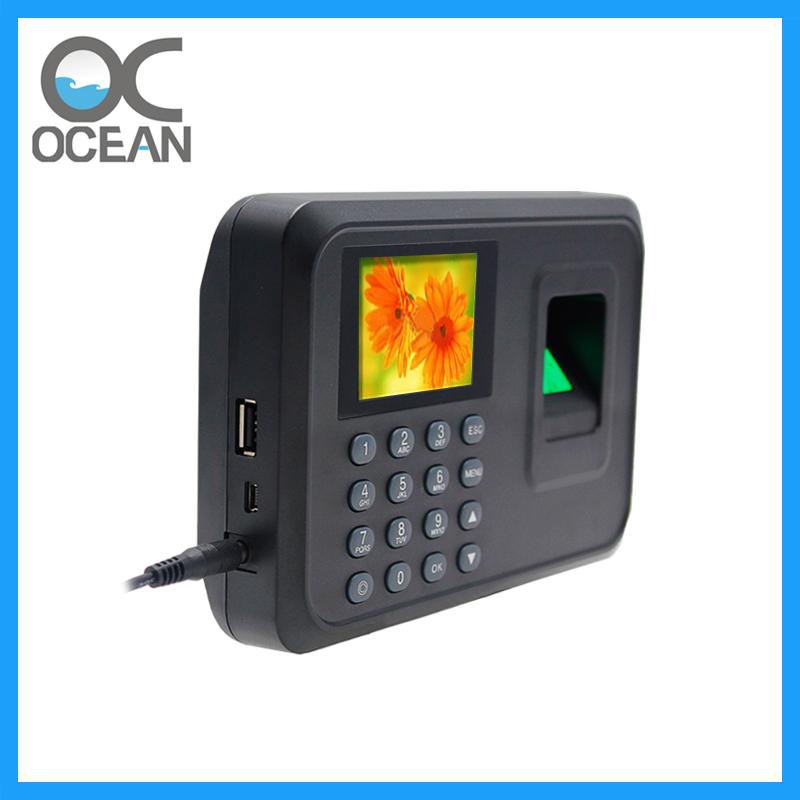 OC005 Biometric Fingerprint Attendance Machine with LCD Display USB Disk